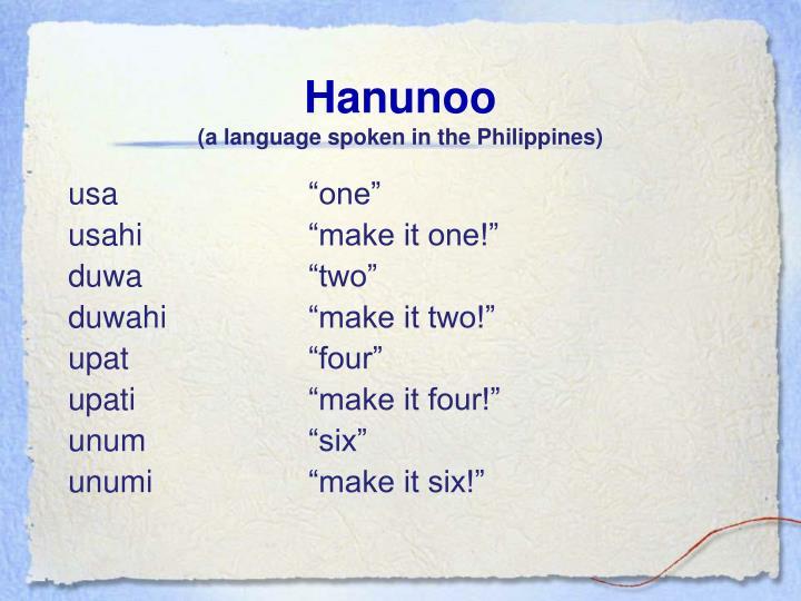Hanunoo