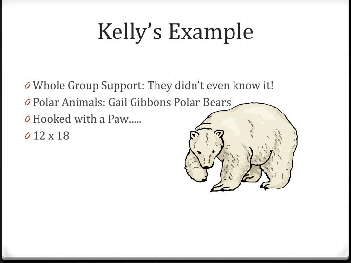 Kelly's Example