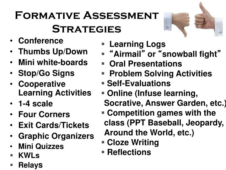 Ppt  Formative Assessments In The World Language Classroom