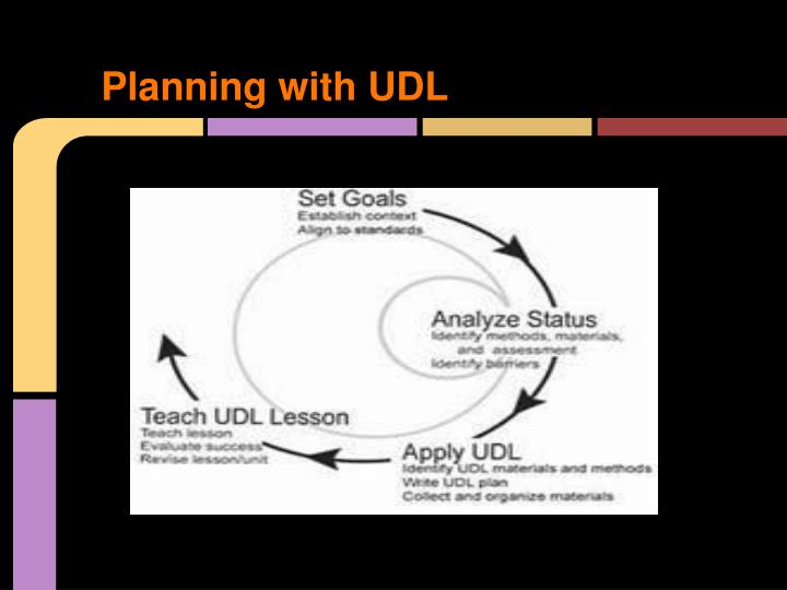 Planning with UDL