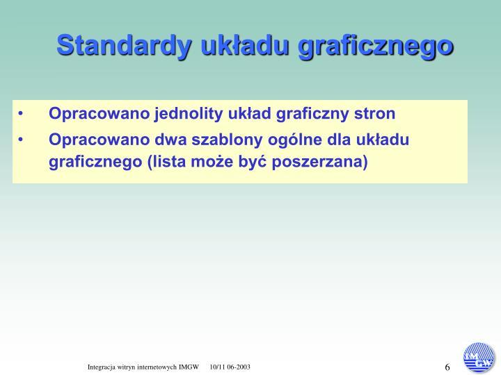 Standardy układu graficznego