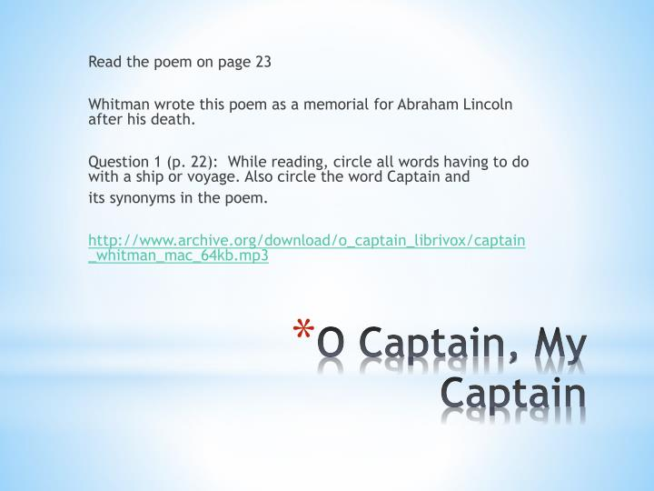 Read the poem on page 23