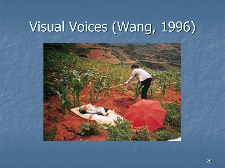 Visual Voices (Wang, 1996)