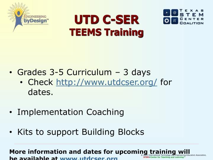 UTD C-SER