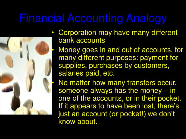 Financial Accounting Analogy