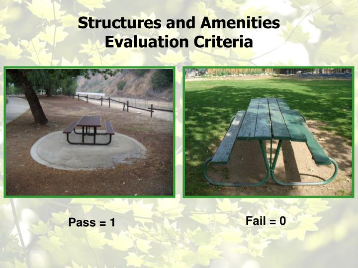 Structures and Amenities