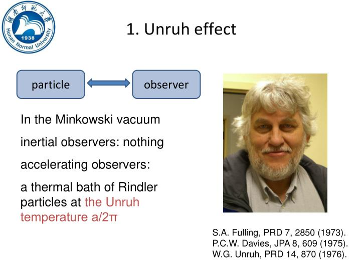 W. G. Unruh #