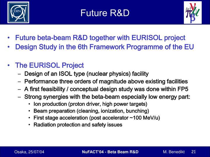 Future R&D
