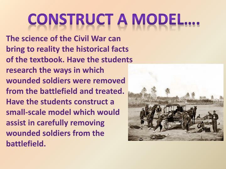 Construct a Model….