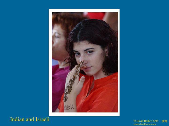 Indian and Israeli