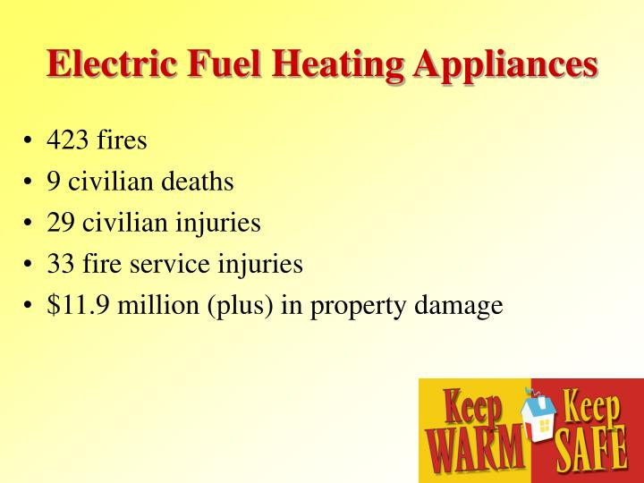 Electric Fuel Heating Appliances