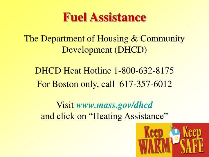 Fuel Assistance