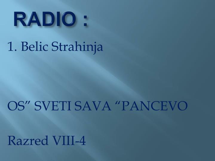 RADIO :