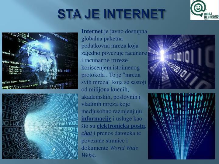 STA JE INTERNET