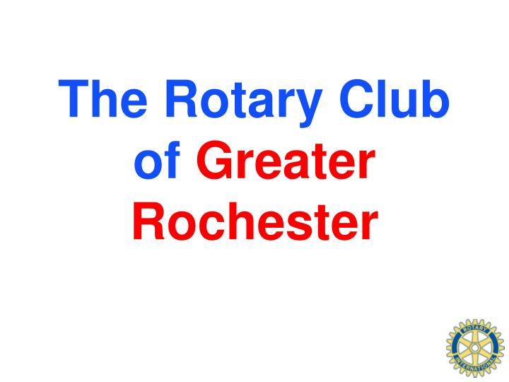 The Rotary Club of