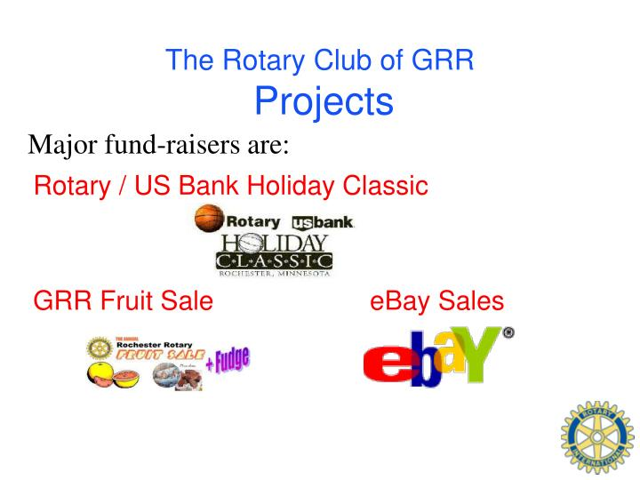 The Rotary Club of GRR