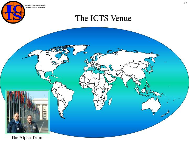 The ICTS Venue