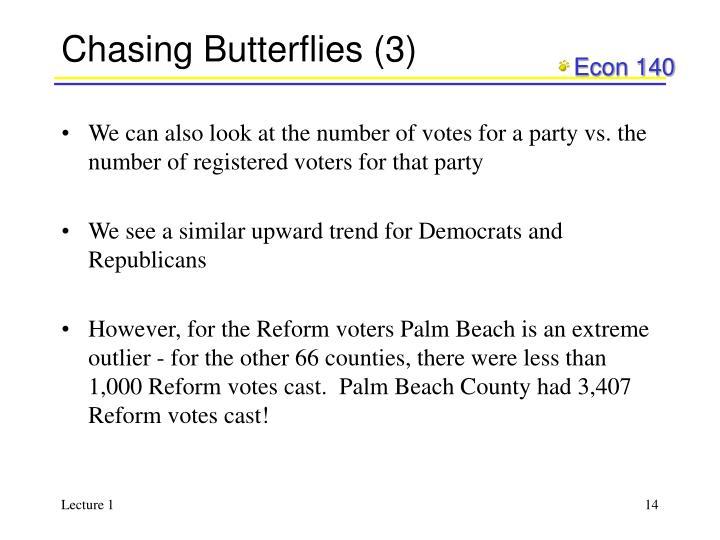 Chasing Butterflies (3)