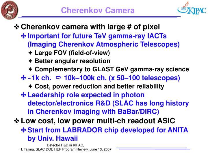 Cherenkov Camera