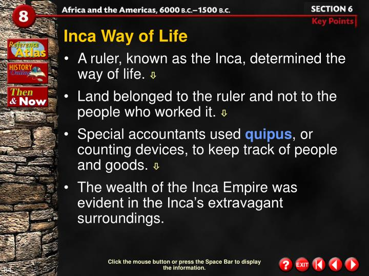 Inca Way of Life