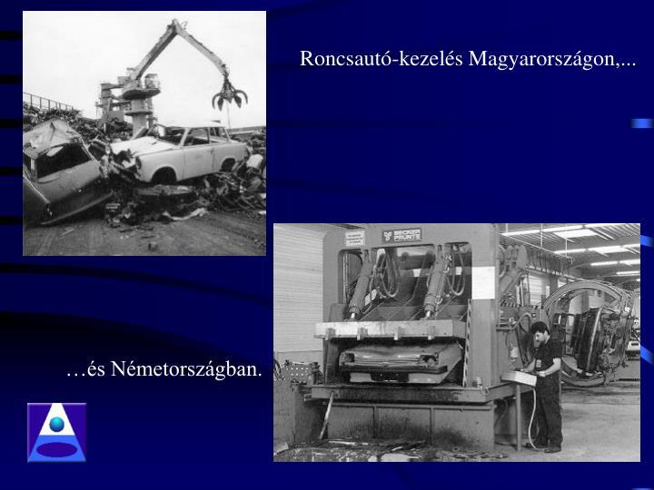 Roncsautó-kezelés Magyarországon,...