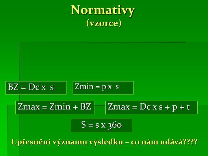 Normativy