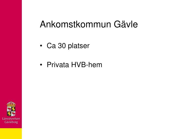 Ankomstkommun Gävle
