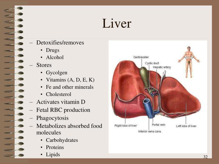 Detoxifies/removes