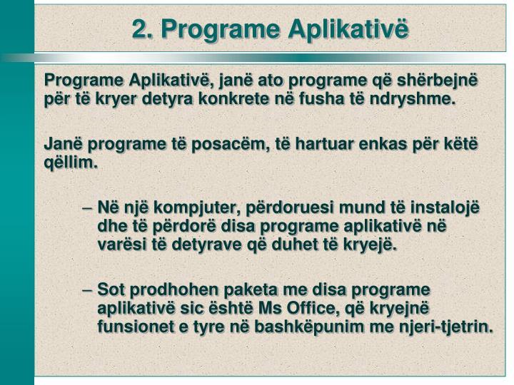 Programe