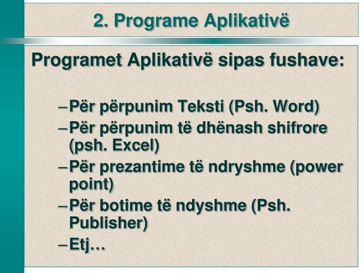 Programet