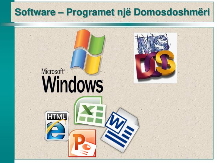 Software –