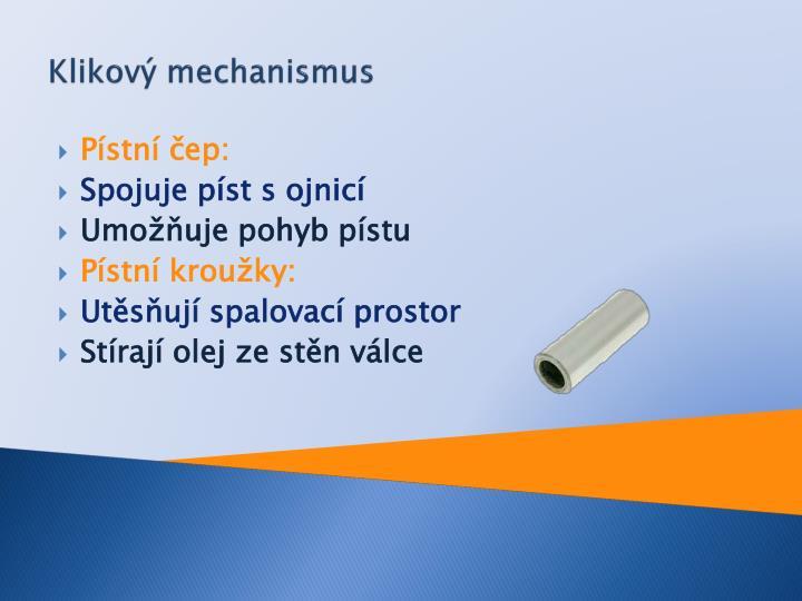 Klikový mechanismus