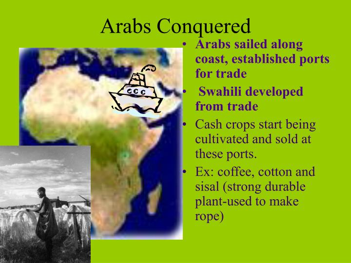 Arabs Conquered