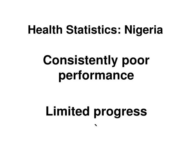 Health Statistics: Nigeria