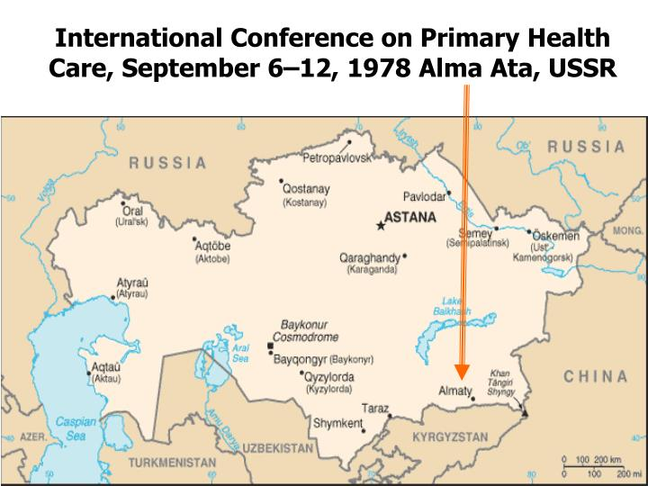 International Conference on Primary Health Care, September 6–12,