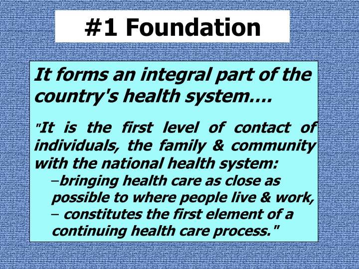#1 Foundation