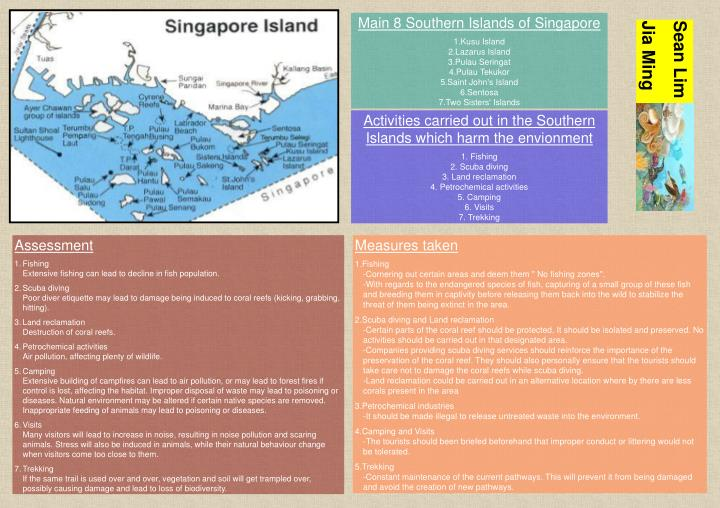 Main 8 Southern Islands of Singapore