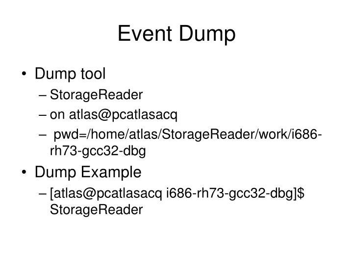 Event Dump
