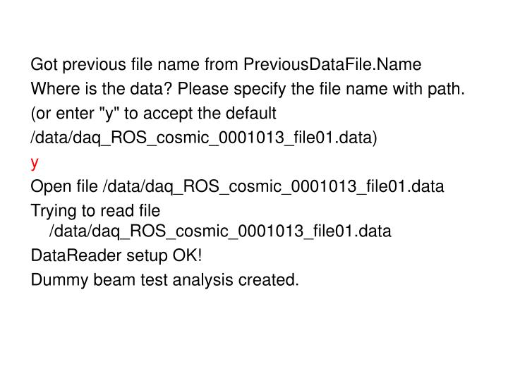 Got previous file name from PreviousDataFile.Name