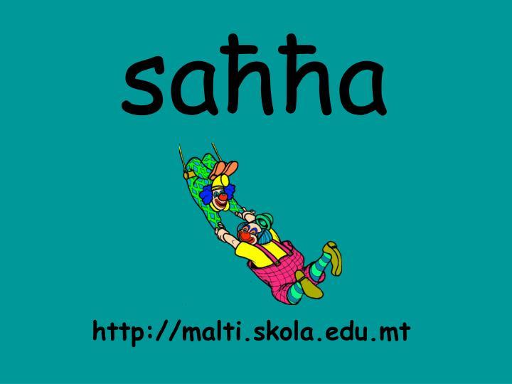 saħħa