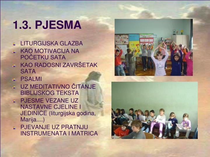1.3. PJESMA