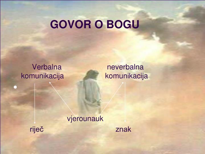 GOVOR O BOGU