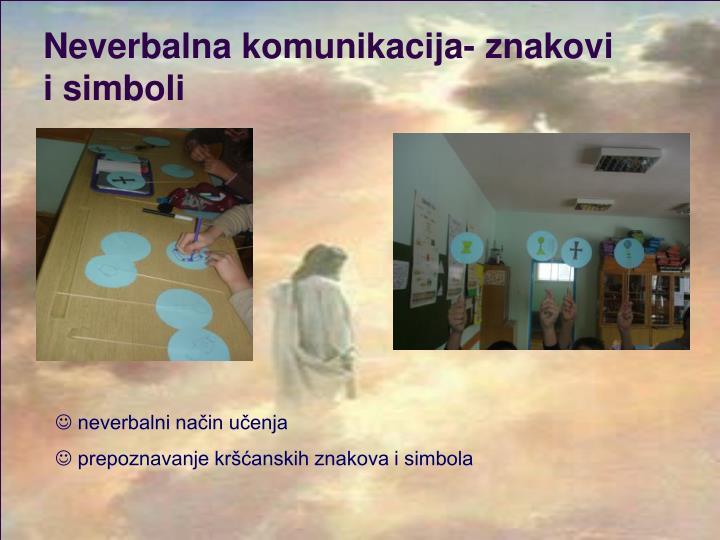 Neverbalna komunikacija- znakovi i simboli