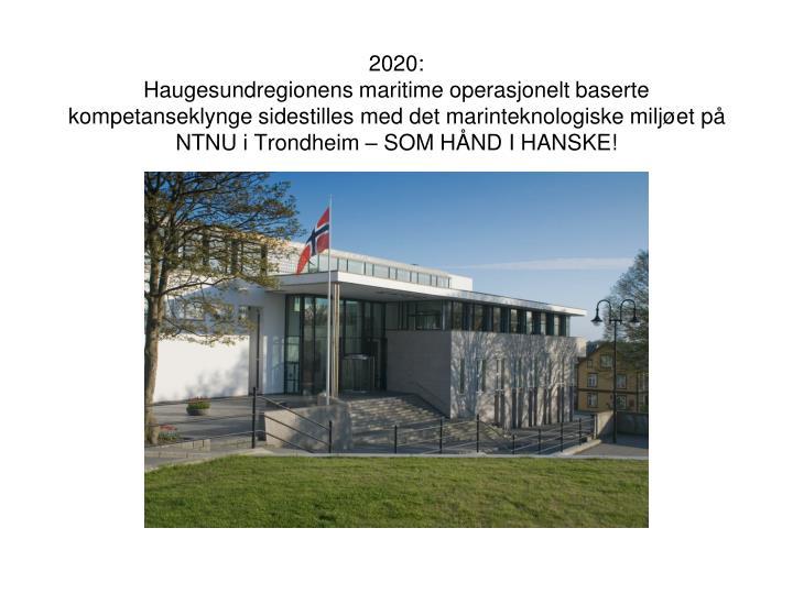2020: