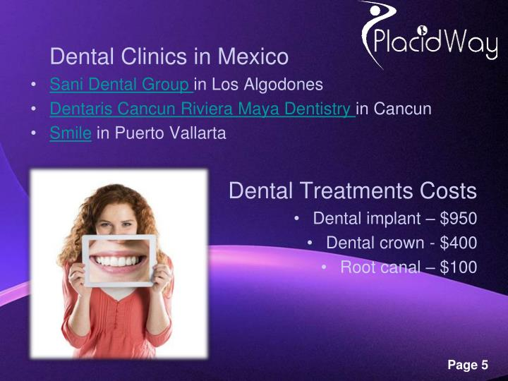 Dental Clinics in Mexico