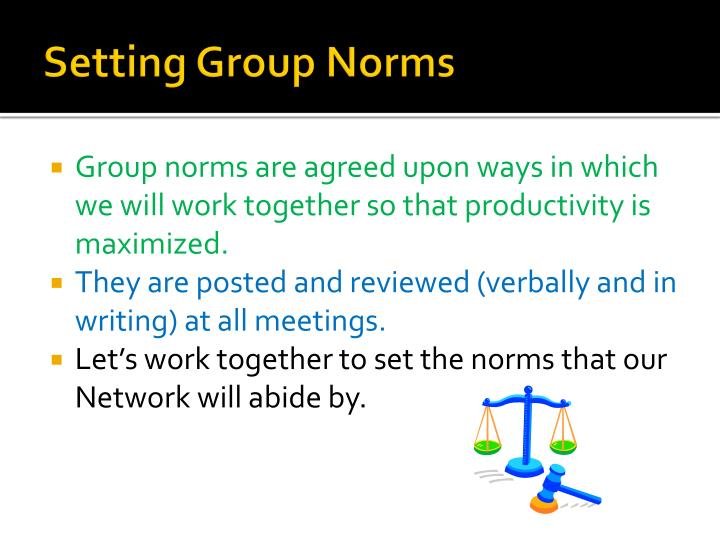 Setting Group Norms