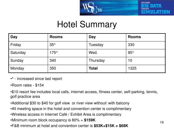 Hotel Summary