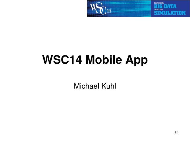 WSC14 Mobile App