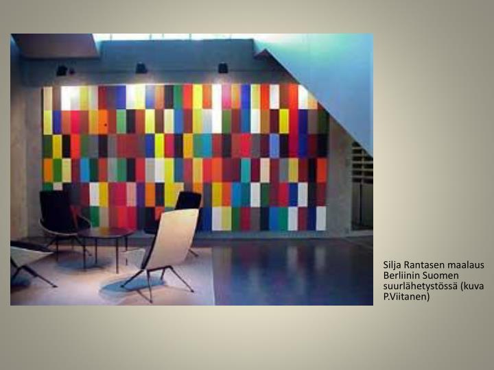 Silja Rantasen maalaus Berliinin Suomen suurlähetystössä (kuva