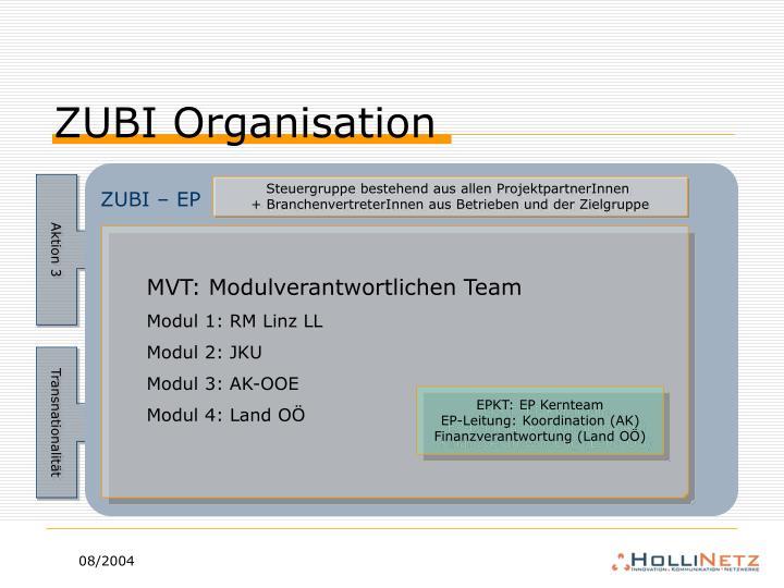 ZUBI Organisation